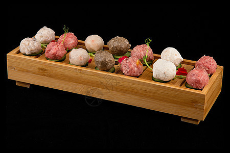 火锅丸子经典美食图片
