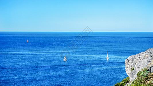 欧洲夏日海上风光图片
