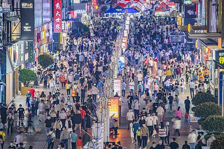 城市夜经济地摊经济图片