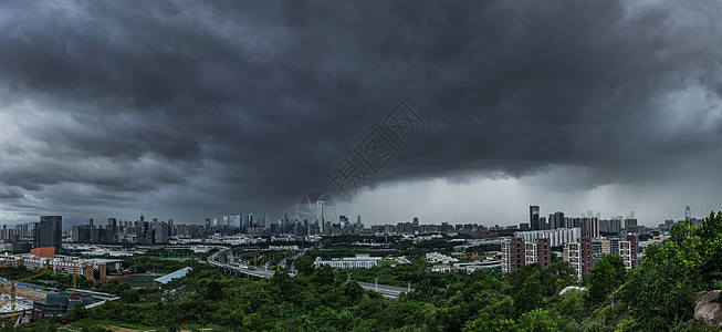 深圳暴风雨图片