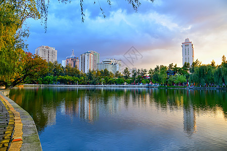 昆明翠湖公园图片
