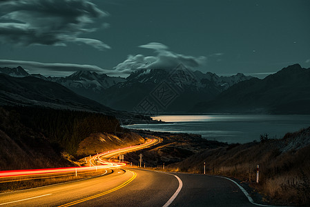 新西兰库克山风景图片图片