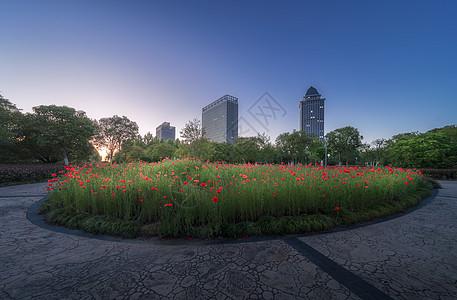城市小区景观图片