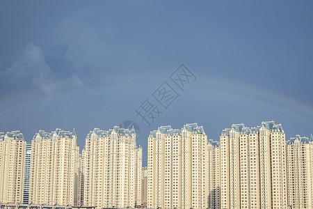 雨后的彩虹图片