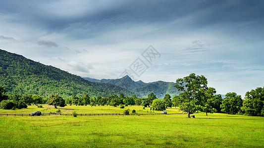 泰国拉廊高山草甸自然风光图片