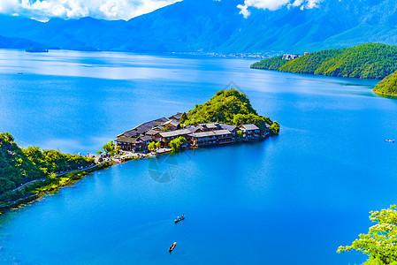 泸沽湖里格半岛picture