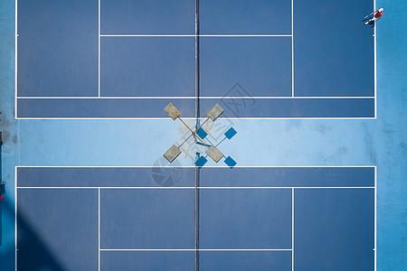 网球场地俯视图图片