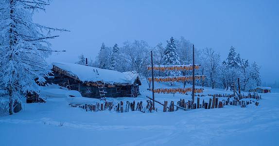吉林亚龙湾景区冬天风景图片