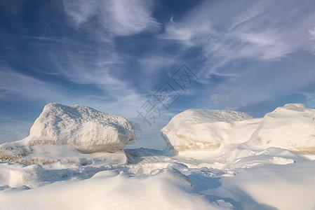 冬天冰雪风光图片