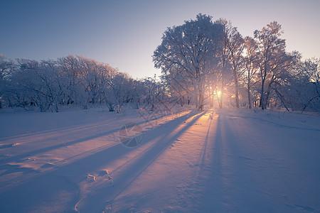 亚龙湾景区四方顶子冬天风光图片