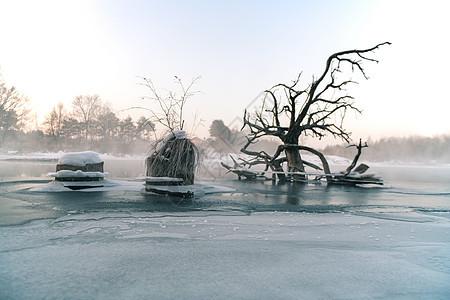 魔界冬天风光图片