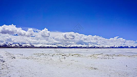 冬天西藏纳木措风光图片