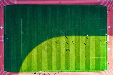 标准足球场俯视图图片