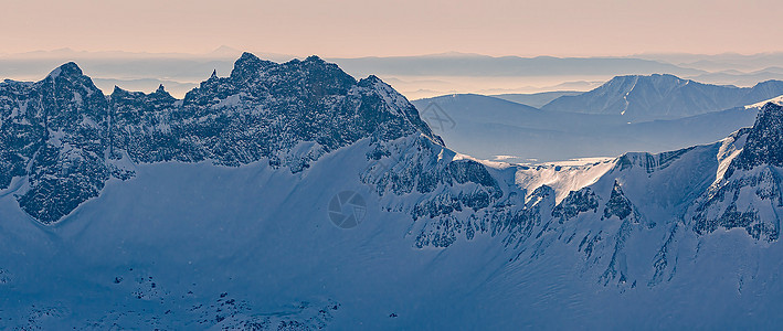 吉林长白山冬天风景图片