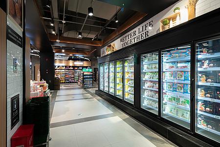 商场超市场景图片