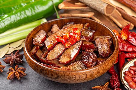 四川腊肉美食图片