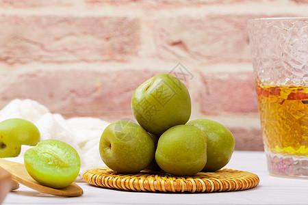 水果青梅美食图片图片