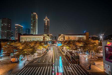 广东深圳福田区市民中心建筑素材图片