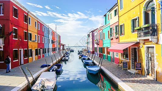 意大利彩色岛风光图片