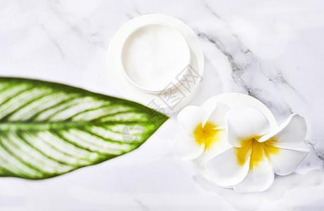 SPA护肤乳静物背景素材图片