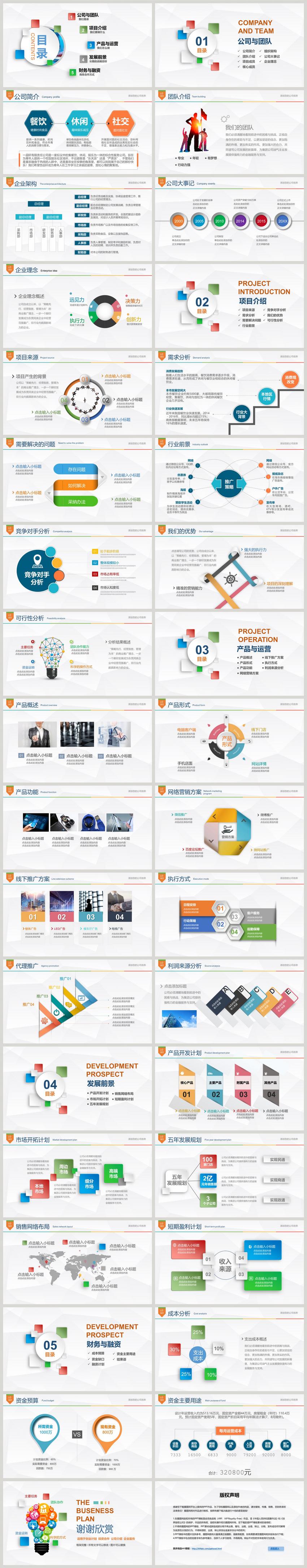 创业计划书ppt下载_创业融资计划书PPT模板图片-正版模板下载400154219-摄图网