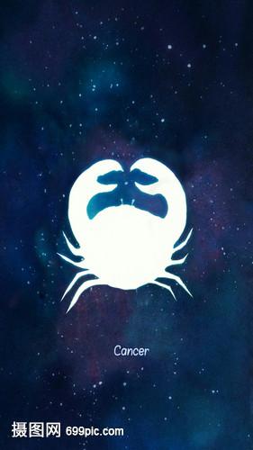 巨蟹座十二星座系列命运狮子座8月19日的女生的插画如何图片