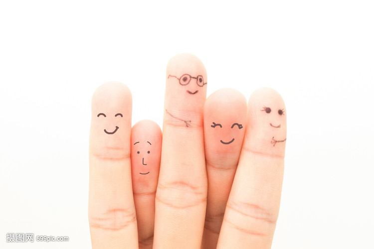 表情素材收到手over表情包创意手指画手指图片