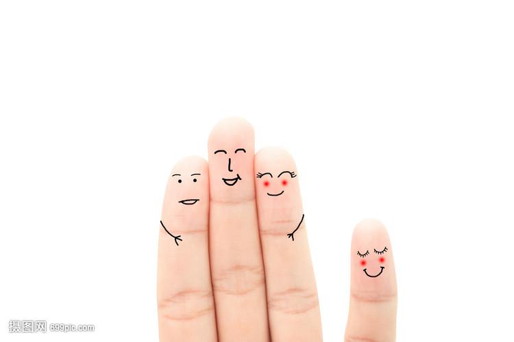 创意手指画表情手指做饭的图片感谢搞笑老公图片