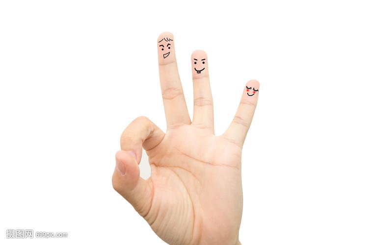 创意手指画表情手指搞笑搞恶表情包图片大全图片