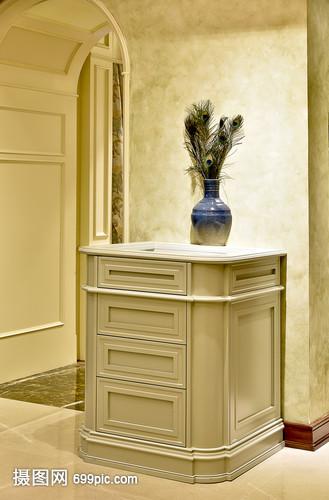 现代简约简欧式家装家居家具花瓶厨房客厅家具2014广州展月份柜子年3图片