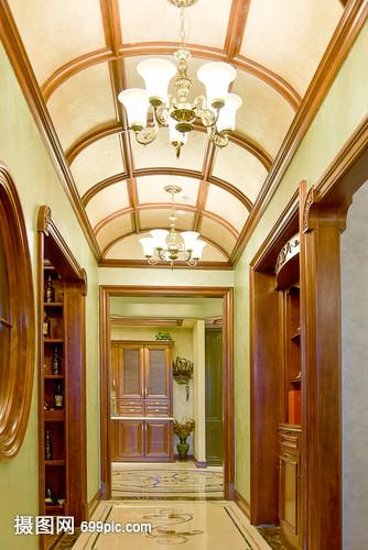 现代简约简欧式家装家居厨房客厅柜子家具吊顶家具宫翠丽图片