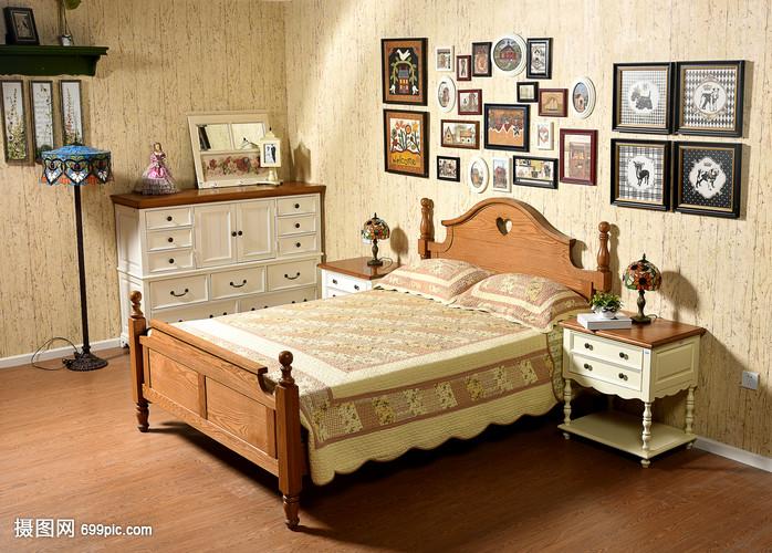 现代简约简欧式家装家居客厅家具家具厨房蓝柜子中图片