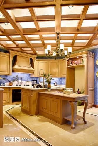 现代简约简欧式家装家居厨房家具家具客厅柜子居商翼美东莞图片