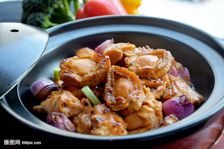 鲍鱼焖鸡印度婚宴菜谱图片