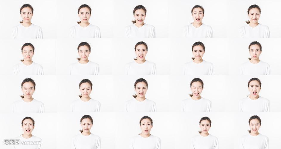 照片青年表情表情怎么变成搞笑女性图片