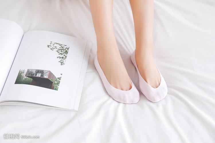 女生船袜怎么女生百合图片