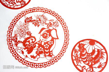 春节新年剪纸窗花