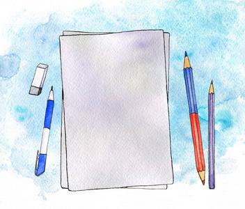 设计平面空布局隔离简约的业务模板广告模板空家具设计自动拆单软件下载图片