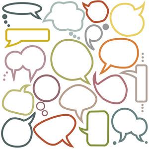 白色、通知、方案框的概念。文本感言上稿教学设计终背景图片