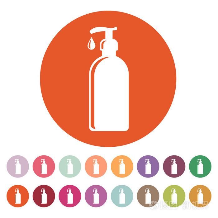皂液,乳液,霜,洗发水图标