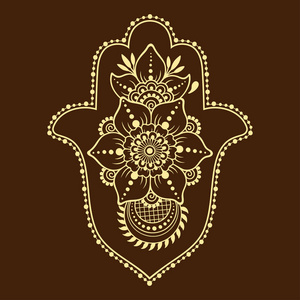 Hamsa手绘制的海蒂在曼荼罗。曼符号广东华南建筑设计院有限公司概况图片