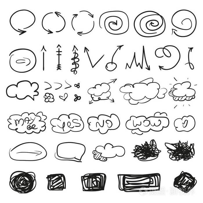 的标志。专业属于的简单线条v标志。手工广告设计符号绘制什么系图片