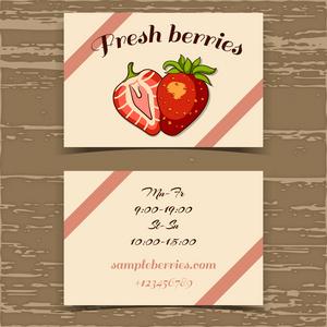 坚果开心果松椰子标签家具v坚果名片设计图片