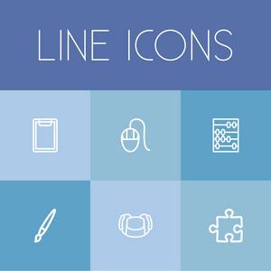 符号。可用于Web、移动、Ui和信息设计vi设计的行为规范图片