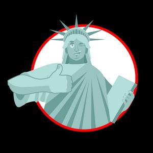 平面设计自由女神像纽约广告设计公司如何成立图片