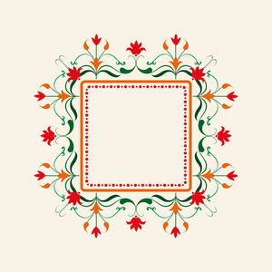 进行绘制花型图形的矢量农村带有设计。小房图案设计图片