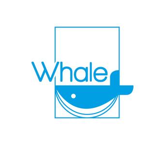 用简单矢量概述的标识的线条蓝鲸模具设计与v矢量职位绘制图片