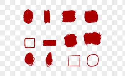 暂无图片logo_手绘红底印章元素素材下载-正版素材400538493-摄图网