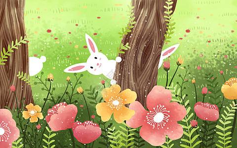 可爱动漫房子_蘑菇房子卡通背景插画图片下载-正版图片400082194-摄图网