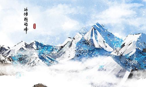 西安大雁塔图片_西安钟楼水墨画插画图片下载-正版图片400263015-摄图网